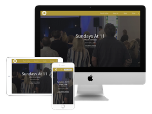 Our web design company did this website for a church.